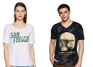 SF Jeans By Pantaloons Tshirts From Rs. 157