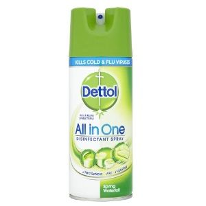 Flat 51% off on Dettol Disinfectant Spray - 400 ml (Spring Waterfall)