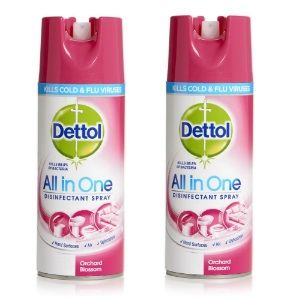 Dettol Disinfectant Spray - 400 ml (Orchard Blossom) Pack Of 2 AT Rs.799