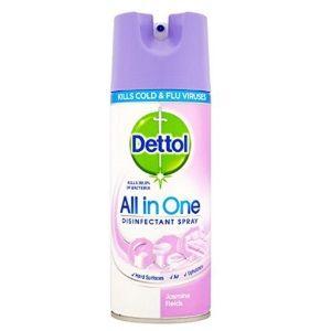Flat 52% off on Dettol Disinfectant Spray Jasmine Fields 400ml