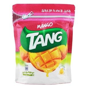 Tang Mango Drink Powder Resealable Pouch, 500g At Rs.237