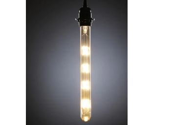 Cylindrical Glass filament bulb by Aesthetic Home Solutions at Rs. 499 + Free Shipping