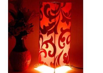 Tucasa Leaf Pattern Metal Floor Lamp at Just Rs. 799 + Free Shipping