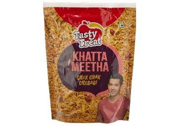 Tasty Treat Namkeen, Khatta Meetha, 350g At Rs.34