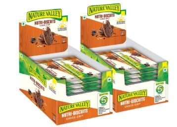 Flat 50% off on Nature Valley Nutri Biscuit - Choco Chip, 25g - Pack of 12 x 2