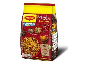Maggi 2-Minute Special Masala Instant Noodles, 70g (Pack of 12) at Just Rs.131 + Free Shipping