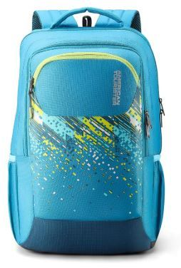 Apply 10% Coupon - American Tourister Crone 29 Ltrs Turquoise Casual Backpack