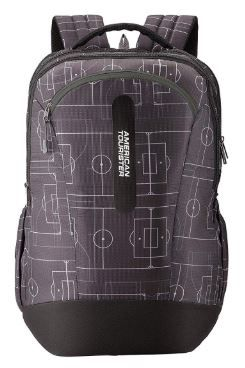 Apply 10% Coupon - American Tourister Jet 30 Ltrs Black Casual Backpack