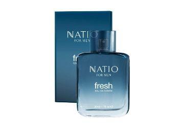 Flat 50% off on Natio Mens Fresh Eau de Toilette, 50ml