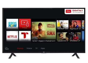 Flat 36% off on TCL 80 cm (32 Inches) HD Ready LED Smart TV