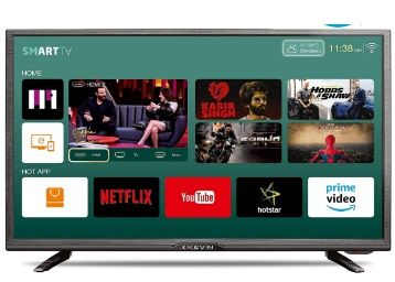 Flat 45% off on Kevin 80 cm (32 Inches) HD Ready LED Smart TV K32CV338H (Black) (2019 Model)