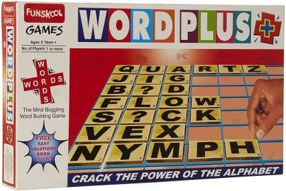 Funskool Word Plus (Multicolor)