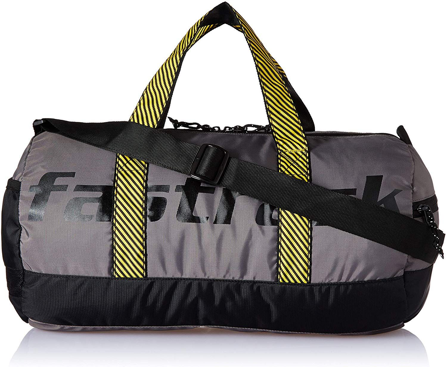 Fastrack Polyester 17 inches Grey Travel Duffle