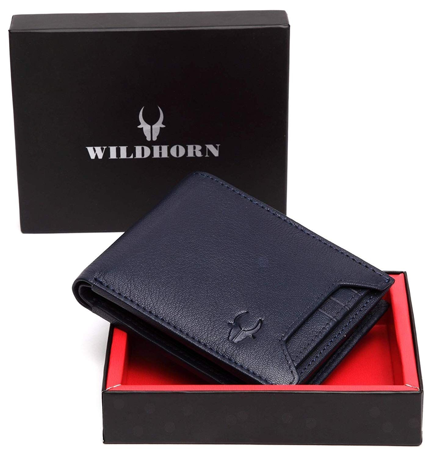 WildHorn RFID Protected Genuine High Quality Leather Wallet for Men