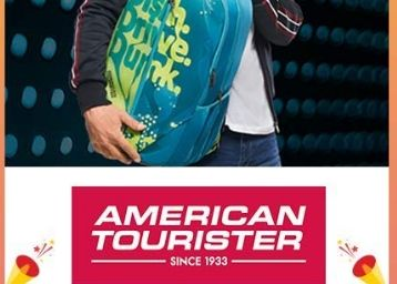 Minimum 55% Off On American Tourister Luggages + Free Shipping