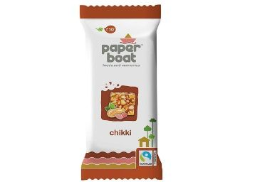 Flat 40% off on Paper Boat Peanut Chikki, 30 x 28g at Rs.180