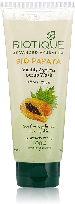 Biotique Bio-Papaya Exfoliating Face Wash