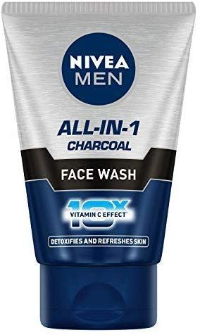 NIVEA MEN Face Wash (Charcoal)