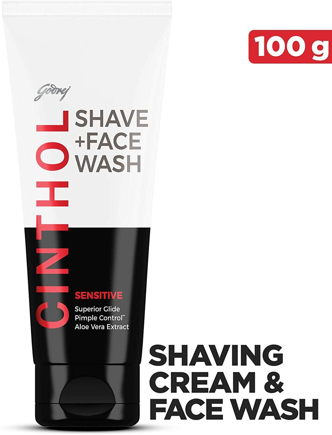Cinthol Sensitive Shaving + Face wash 100g