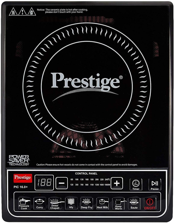 Prestige PIC 16.0+ 1900- Watt Induction Cooktop