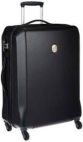Delsey Misam ABS 66 Cm 4 Wheels Black Medium Hard Suitcase