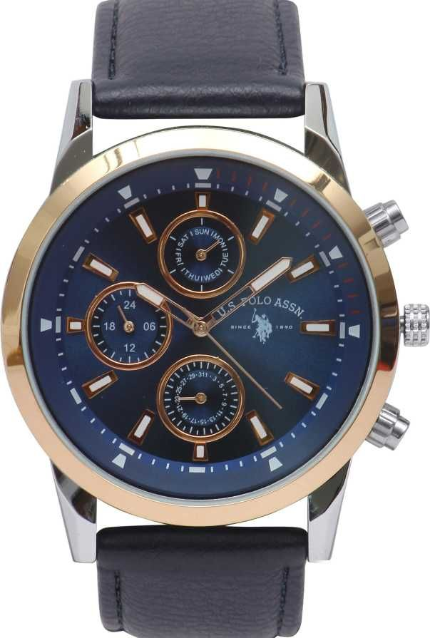 U. S. POLO ASSN. USAT0154 Analog Watch - For Men