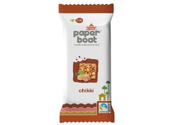 Paper Boat Peanut Chikki 30 x 28g at Rs.180 + Free Shipping