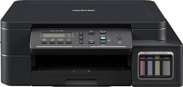 Brother DCP-T510W IND Multi-function Wireless Printer  (Black, Refillable Ink Tank)