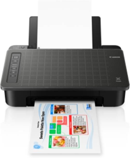 Canon TS307 (Direct WiFi ) Single Function Wireless Printer  (Black)