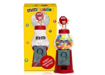 M&M's Round Candy Dispenser Toy 15cm Diwali Gift Pack with Milk Chocolate Candies at Rs.499