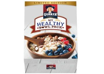 Quaker Oats - 1 Kg with Wooden Bowl & Spoon at Just Rs.185 + Free Shipping