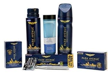 Park Avenue Good Morning Grooming kit for men (Pack of 7) at Rs.300