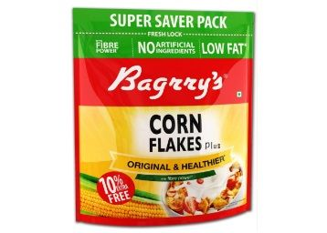 Flat 50% off on Bagrrys Corn Flakes, 800g (with Extra 80g) at Rs.145 + Free Shipping