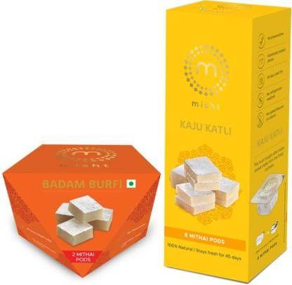 misht Kaju Badam Burfi Combo Box (2 x 0.14 kg)