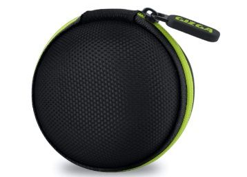 Gizga Essentials Earphone Carrying Case for Earphones, Headset, Pen Drives, SD Cards at Rs.199 + Free Shipping