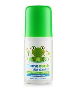 Mamaearth After Bite Roll On for Rashes & Mosquito Bites with Lavander & Witchhazel, 40ml at Rs.99