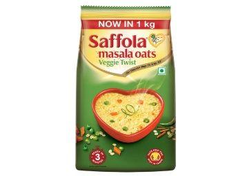Saffola Masala Oats, Veggie Twist, 1 kg at Rs.229