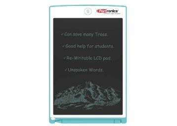 Portronics Portable RuffPad E-Writer 8.5-inch LCD with 4 Magnet, Stylus Drawing Handwriting Board, Blue at Rs. 693