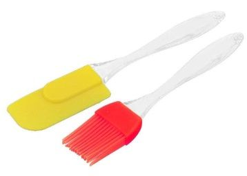 TECHICON Silicone Spatula and Pastry Brush for Cake Mixer, Decorating, Cooking, Baking and Glazing at Rs. 99
