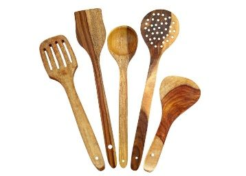 Aarsun Woods Spoon Set For Kitchen / Wooden Spatula at Rs. 179