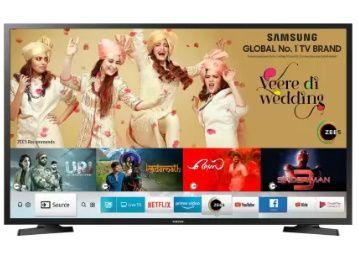 Samsung Series 4 80 cm HD Ready LED Smart TV @ Rs.12499 + 2% FKM Cashback