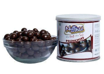 Flat 50% off on NuttyWorld Chocolate Coated Peanuts 175g at Rs. 199