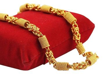 Flat 85% off on Fashion And More Jewel Home Gold Plated Alloy Temple, Ethnic Curb Chain for Boys at Rs. 297