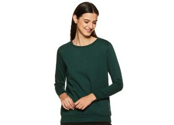 Apply 30% Coupon - Allen Solly Women Sweatshirt at Rs. 429 + Free Shipping