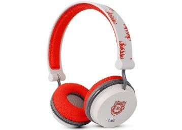 Flat 61% off on boAt Kings XI Punjab Edition Rockerz 400 Bluetooth Wireless Headphone (Red) at Rs. 1549