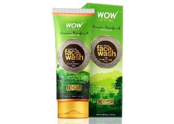 WOW Mineral Face Wash with Crude Volcanic Clay - No Parabens, Sulphate, Silicones and Color at Rs. 152