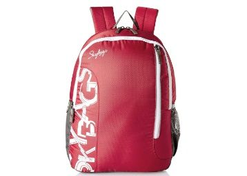 Flat 70% off on Skybags Red Casual Backpack at Rs. 599