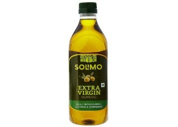 Flat 68% off on Amazon Brand - Solimo Extra Virgin Olive Oil, 1L at Rs. 579