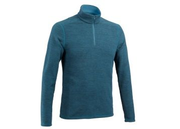 Men's Fleece MH100 - Petrol Blue at Rs. 499