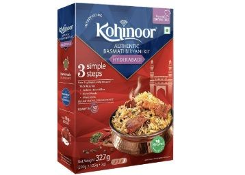 Kohinoor Authentic Basmati Biryani Kit, Hyderabadi, 327g at Rs. 69